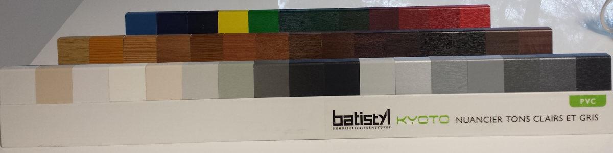 coloris fenetres PVC